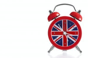 British Flag Clock